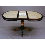 Стол 1 балясный раздвижной с керамической плиткой