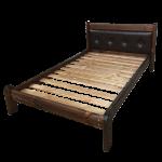 Кровать Русич2 с мягкой спинкой